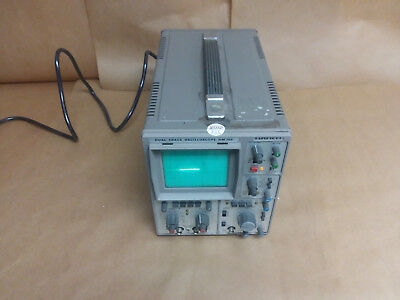 Hameg Hm705 Dual Trace Oscilloscope (Working Condition)(Cord And Case Included)