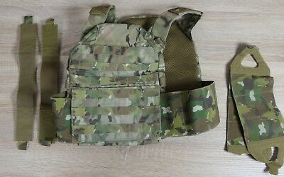 Blue Force Gear LMAC Plate Carrier Multicam Set with Ten Speed Closures Size L