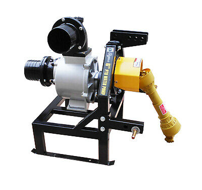 """Sigma Tractor-Driven Operated PTO-Powered Water Pump 6"""" With Gear for Tractor"""