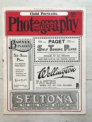 May 29th 1918 - Photography & Focus Magazine - No 1542, Vol XLV - ref154