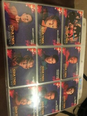 Complete Set Star Trek Deep Space Nine The Mission Skybox Collectors Cards 93