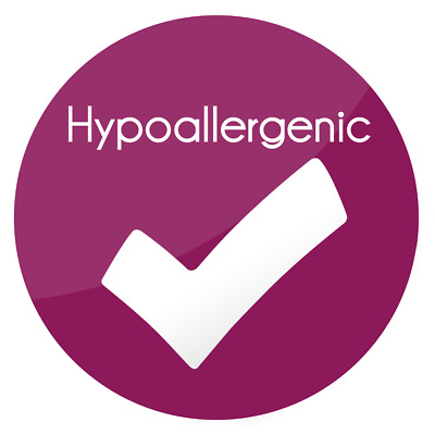 Hypoallergenic Round Labels Circle Stickers Matt Gloss Clear Transparent Hp1