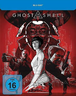Blu-ray - Ghost In The Shell - geprägtes STEELBOOK - Limited Edition (2017)