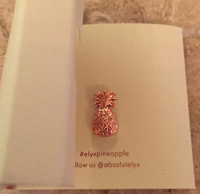 BNIP Copper Pineapple Lapel/Tie Pin by ABSOLUT ELYX BOUTIQUE, Unisex Brand New