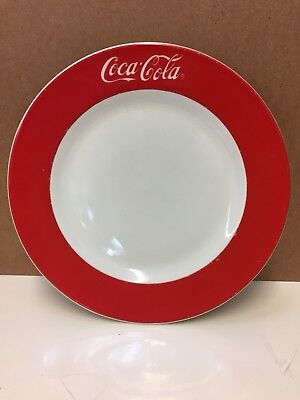 1997 Gibson Coca Cola Classic Dinner Plate Vintage