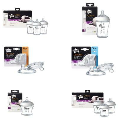 Tommee Tippee Ultra Baby Bottle 260ml/ 150ml