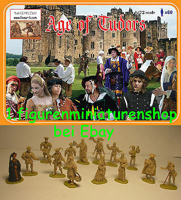 1:72 Figuren 012 Age Of Tudors Limitiert - Linear-B