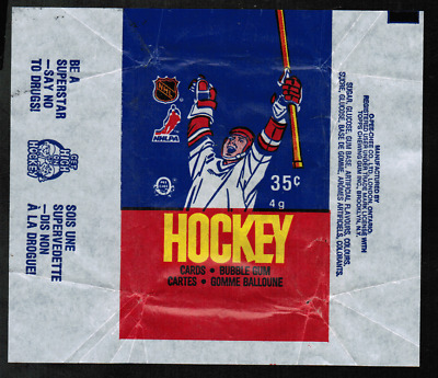 1986-87 O-Pee-Chee Hockey Wrapper From Wax Pack VG (ref #3)