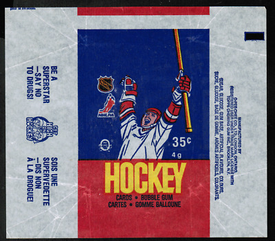 1986-87 O-Pee-Chee Hockey Wrapper From Wax Pack NRMT ref #5