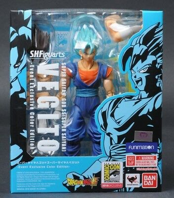 2018 SDCC Vegito Bluefin Tamashi SH Figuarts Dragon Ball Z BandaI Exclusive