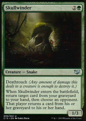 1x SKULLWINDER - Rare - Commander - MTG - NM - Magic the Gathering