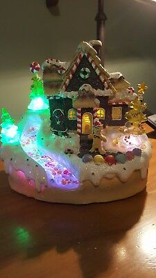 Christmas Light Up And Sings Ginger Bread House