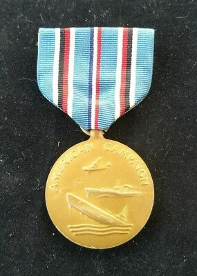 United States Usa Full Size Ww2 1941-1945 Campaign Medal