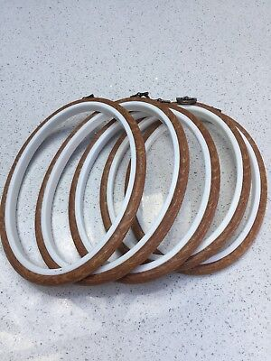 "5 wood grain 7""x5"" flexi rings - New"