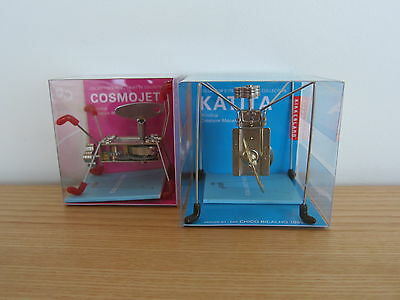 NIB (Collector's Item) Two Kikkerland Wind Up Toys: Katita & Cosmojetz