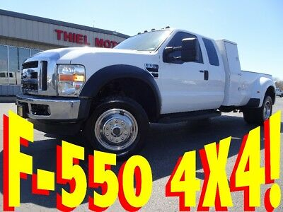 2008 Ford F-550 LARIAT VERY RARE F-550 ((4X4)) LARIAT ((V10)) LEATHER ((LOW MILES)) F-350 F-450 F-550