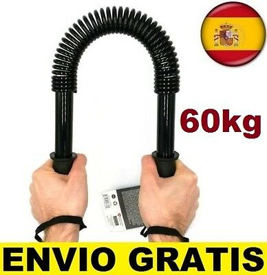 Barra de Torsion POWER TWISTER 60 KGS Musculacion Pesas Ejercicio Fitness oferta