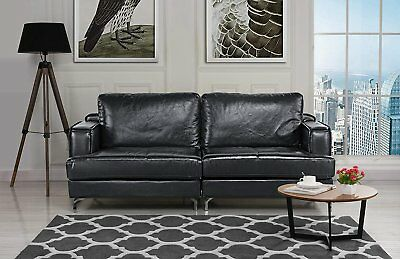 Phenomenal Bellini Modern Living Greta Leather Sofa 3 759 00 Picclick Caraccident5 Cool Chair Designs And Ideas Caraccident5Info