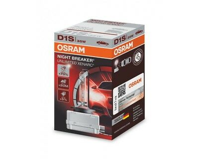 NEU ORIGINAL Osram D1S 66140XNB Night Breaker Unlimited xenon bulb brenner BMW M
