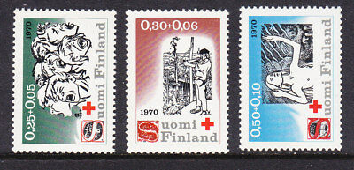 Finland Red Cross 1970 Complete set 768/70 Mint