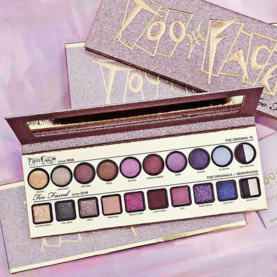 BNIB Limited Edition TOO FACED Then & Now Eyeshadow Palette - Cheers to 20 Years