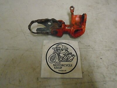 1983 Honda Cr80 Right Foot Peg And Mount