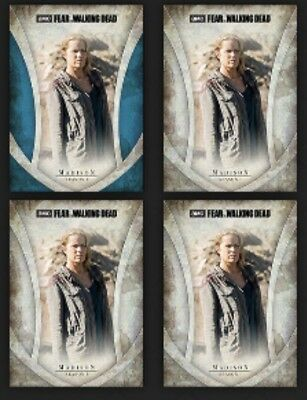 Madison-Fear Icons-Blue+3 Base Variants-Topps Walking Dead Card Trader