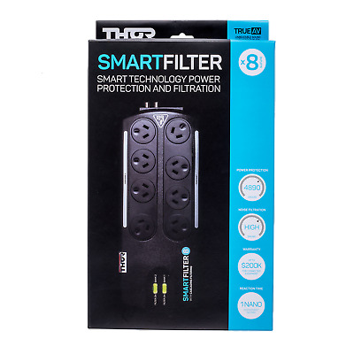 THOR B8F Smartfilter 8 Way Surge Protection & Filtration