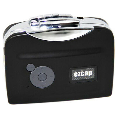 Tape to PC USB Cassette-to-MP3 Converter Capture Audio Portable Music Playe L2S9