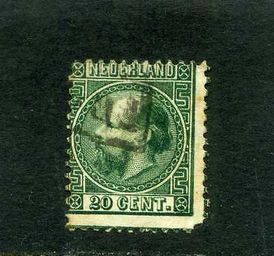 Nederland, William Iii,  Sc 10   1867