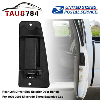 for 99-06 Chevy Silverado Sierra Extended Cab Rear Left Driver Side Door Handle
