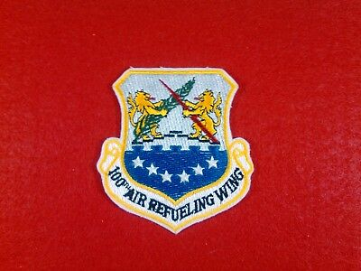 U.s.a.f. 100Th Air Refueling Wing, New , From The 80's,beautiful Color.
