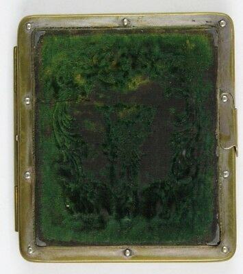 Rare Sixth Plate Heavy Metal Riveted Daguerreotype Case, Not thermoplastic Union