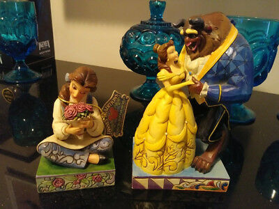 Jim Shore Disney Beauty and the Beast figures Beautiful Belle Love Conquers All