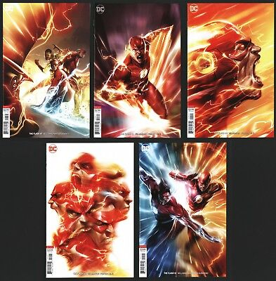 Flash 47 48 49 50 51 Francesco Mattina Virgin Cover B Variant Lot - Unread
