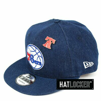 New Era - Philadelphia 76ers Denim Snapback