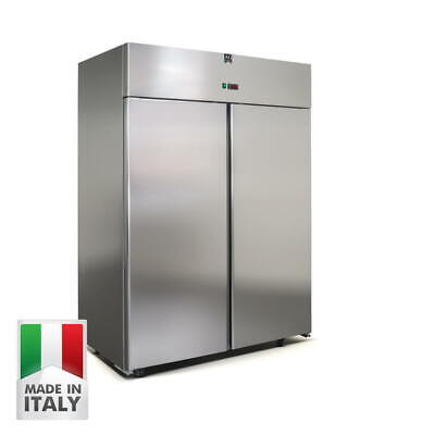 New Upright Commercial Freezer 1400 Liters 304 Stainless Steel Made In Italy