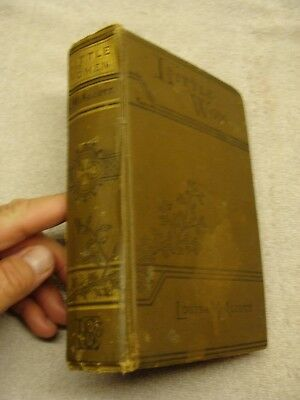 1917 Antique Little Women Hardcover Book by Louisa May Alcott VINTAGE OLD HC