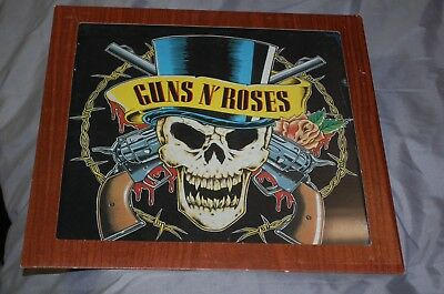 Guns N Roses Welcome To The Jungle FAIR PRIZE HANGING MIRROR 1980s Carnival