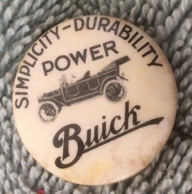 vintage 1912 1913 1914 BUICK DEALER Touring Car•Simplicity-Durability Power PIN•