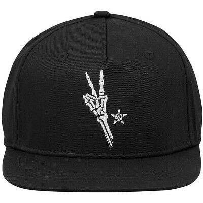 NEW Unit Mx Peace Out Black Premium Motocross Lifestyle Summer Youth Hat
