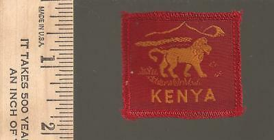 B6) Scouts Kenya  - late 1950s early 60s