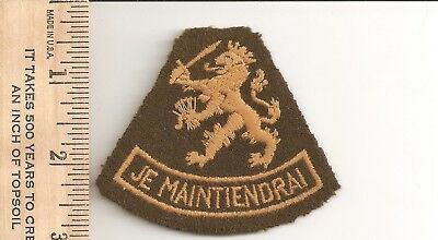 B8) Scouts Netherlands   - late 1950s early 60s - Je Maintiendrai