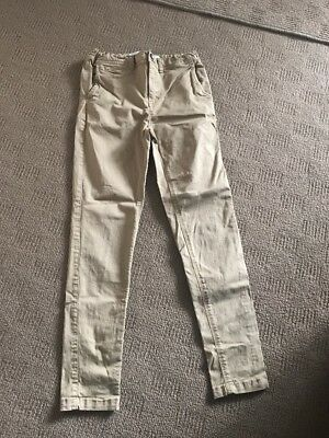 'Free' By Cotton On Boys Chinos Size 9. EUC. Slim Fitting. Suit Size 7-8.