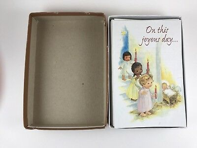 RARE Vintage On This Joyous Day Christmas Book Booklet Guideposts CARDS - 26