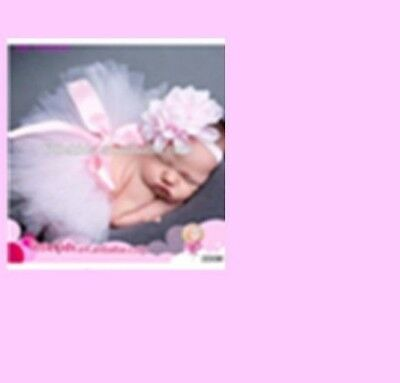 Soft Pink Flower Headband   Suitable For Newborns to 99