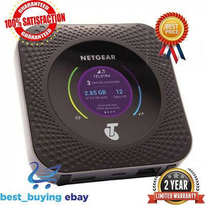Unlocked Netgear Nighthawk M1 MR1100 LTE CAT16 4GX Gigabit Mobile Router Modem