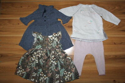 NEXT girls autumn winter outfit bundle 9-12 months *I'll combine postage*(39)