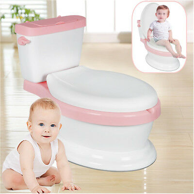 Toddler Potty Training Toilet Seat  Kids Baby Toilet Loo Trainer Seat Pink