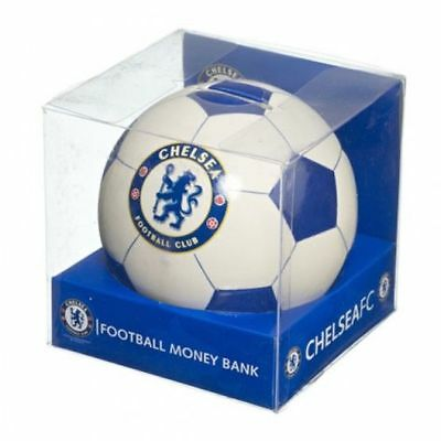 Chelsea FC Football Money Bank - Chelsea Money Box -With Defects see Description